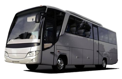 rental bus medium